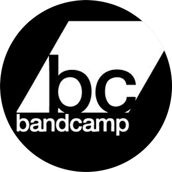 This image has an empty alt attribute; its file name is bandcamplogo.png